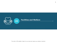 Facilities And Welfare Opportunity Ppt PowerPoint Presentation Pictures Designs
