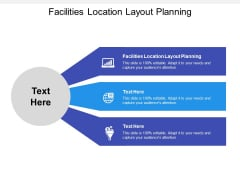 Facilities Location Layout Planning Ppt Powerpoint Presentation Styles Skills Cpb