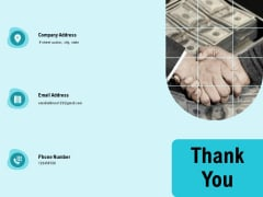 facility operations contol thank you ppt icon professional pdf
