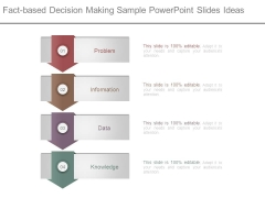Fact Based Decision Making Sample Powerpoint Slides Ideas