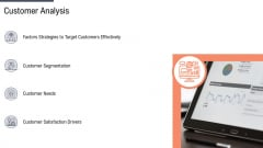 Factor Approaches For Potential Audience Targeting Customer Analysis Microsoft PDF