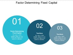 Factor Determining Fixed Capital Ppt PowerPoint Presentation Gallery Graphics Download Cpb