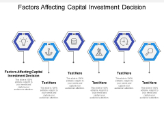 Factors Affecting Capital Investment Decision Ppt PowerPoint Presentation Styles Background Image Cpb
