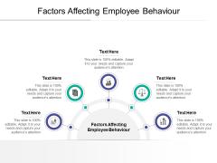 Factors Affecting Employee Behaviour Ppt PowerPoint Presentation File Slideshow Cpb