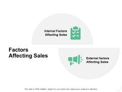 Factors Affecting Sales Ppt PowerPoint Presentation Portfolio Slide Download