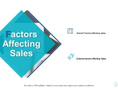 Factors Affecting Sales Ppt PowerPoint Presentation Tips