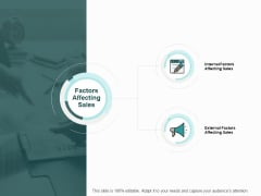 Factors Affecting Sales Soical Ppt PowerPoint Presentation Summary Display
