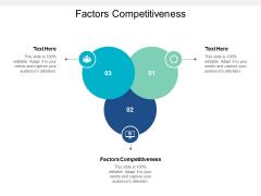 Factors Competitiveness Ppt Powerpoint Presentation File Slide Cpb