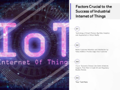 Factors Crucial To The Success Of Industrial Internet Of Things Ppt PowerPoint Presentation Ideas Guide