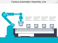 Factory Automation Assembly Line Ppt PowerPoint Presentation File Rules