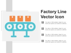 Factory Line Vector Icon Ppt PowerPoint Presentation Professional Icons