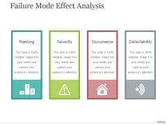 Failure Mode Effect Analysis Ppt PowerPoint Presentation Professional
