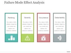 Failure Mode Effect Analysis Ppt PowerPoint Presentation Slides Design Inspiration