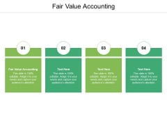 Fair Value Accounting Ppt PowerPoint Presentation Model Template Cpb Pdf