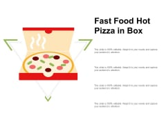 Fast Food Hot Pizza In Box Ppt PowerPoint Presentation Styles Graphics Design