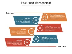 Fast Food Management Ppt PowerPoint Presentation Pictures Template Cpb Pdf