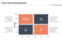 Fast Web Development Ppt PowerPoint Presentation Infographic Template Aids Cpb