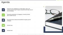 Fastest External Growth With Strategic Partnerships Agenda Elements PDF