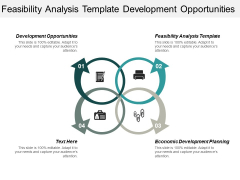 Feasibility Analysis Template Development Opportunities Economic Development Planning Ppt PowerPoint Presentation Portfolio Demonstration