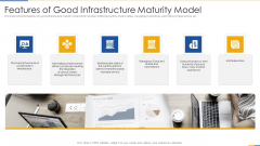 Features Of Good Infrastructure Maturity Model Template PDF