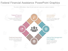 Federal Financial Assistance Powerpoint Graphics