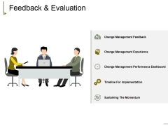Feedback And Evaluation Ppt PowerPoint Presentation File Aids