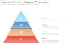 Feedback Consulting Diagram Ppt Inspiration