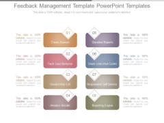 Feedback Management Template Powerpoint Templates