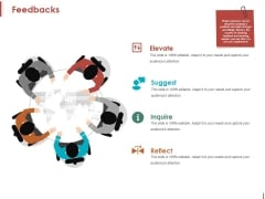 Feedbacks Ppt PowerPoint Presentation Show Graphics Download
