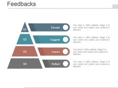 Feedbacks Template 1 Ppt PowerPoint Presentation Deck