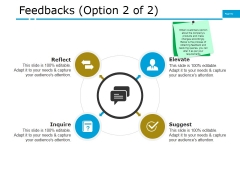 Feedbacks Template 1 Ppt PowerPoint Presentation File Gallery