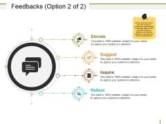 Feedbacks Template Ppt PowerPoint Presentation Inspiration Topics