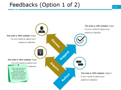 Feedbacks Template Ppt PowerPoint Presentation Professional Ideas