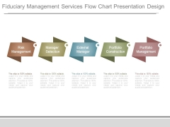Fiduciary Management Services Flow Chart Presentation Design