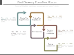 Field Discovery Powerpoint Shapes