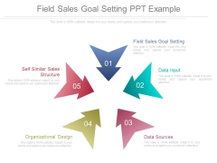 Field Sales Goal Setting Ppt Example