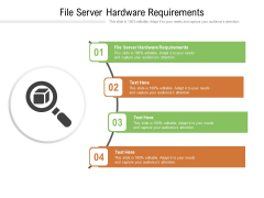 File Server Hardware Requirements Ppt PowerPoint Presentation Infographic Template Graphics Download Cpb Pdf