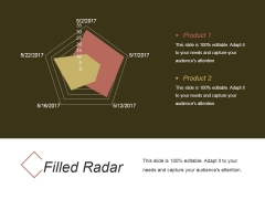 Filled Radar Ppt PowerPoint Presentation Good