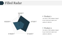 Filled Radar Ppt PowerPoint Presentation Visual Aids