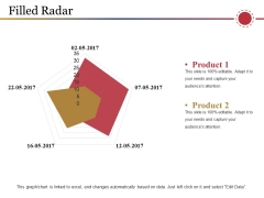 Filled Radar Ppt PowerPoint Presentation model Brochure