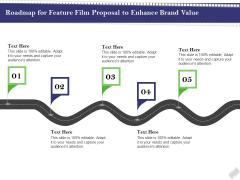 Film Branding Enrichment Roadmap For Feature Film Proposal To Enhance Brand Value Professional PDF