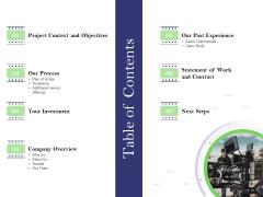Film Branding Enrichment Table Of Contents Demonstration PDF