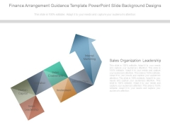 Finance Arrangement Guidance Template Powerpoint Slide Background Designs
