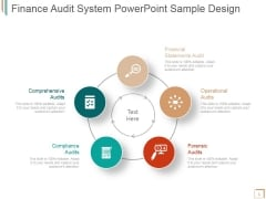 Finance Audit System Ppt PowerPoint Presentation Outline