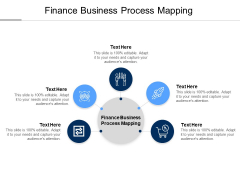 Finance Business Process Mapping Ppt PowerPoint Presentation Pictures Maker Cpb