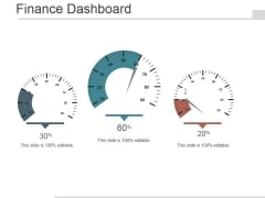 finance dashboard ppt powerpoint presentation templates