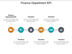 Finance Department KPI Ppt PowerPoint Presentation Styles Topics Cpb