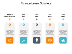 Finance Lease Structure Ppt PowerPoint Presentation Summary Layout Cpb Pdf