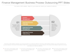 Finance Management Business Process Outsourcing Ppt Slides