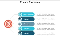 Finance Processes Ppt Powerpoint Presentation Gallery Deck Cpb